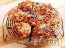 Рецепта Печени люти (нервозни) кюфтета от свинска и телешка кайма с кимион на скара